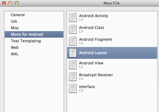 Create Android Layout
